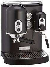 Macchina da caffe macinato per Espresso automatica professionale KitchenAid Nero