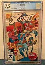 X-FORCE 8 CGC 7.5 WP 1ST REAL DOMINO & 1ST WILDPACK.