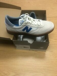 Men's Size 12 New Balance Numeric 440 Sneakers (White/Grey/Gum) Skating Shoes