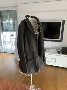 Long Jacke Annette Goertz gr. 42 Schlamm/braun