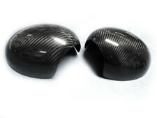 Carbon Fiber Door Mirrors Caps Covers for Mini Cooper S Countryman R60