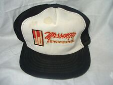 VINTAGE JD MESSENGER SERVICE SNAPBACK MESH TRUCKERS CAP - BALL HAT