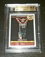 2013-14 NBA Hoops #275 GIANNIS ANTETOKOUNMPO ARTIST PROOF Rookie RC BGS 9.5! MVP