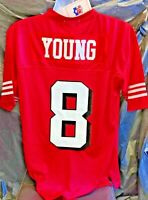 Red Mitchell & Ness San Francisco 49ers 50 Large Steve Young Throwback Jersey