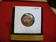 1971  CANADA  1  CENT COIN  PENNY  PROOF LIKE  HIGH  GRADE  SEALED  SEE PHOTOS