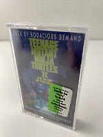 Teenage Mutant Ninja Turtles 2 Secret Of The Ooze Soundtrack Cassette Rap Tape