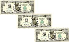 Lot of 3 - One Million Dollar Bills ($1,000,000)