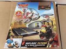 Disney Planes Fire & Rescue Riplash Flyers Rip N Rescue Headquarters new in box