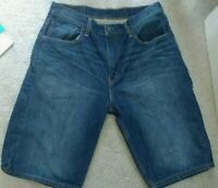 Men's Levi Jean Shorts sz. 32, Blue Jean , Loose Fit, Inseam 12