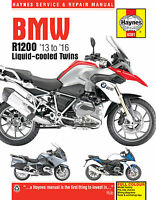 Haynes Manual 6281 - BMW R1200GS, R1200RT Liquid-Cooled Twins (13 - 16)
