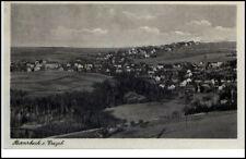 Bernsbach Erzgebirge alte AK Abs.-Eindruck Walter Weißflog Fleischermeister