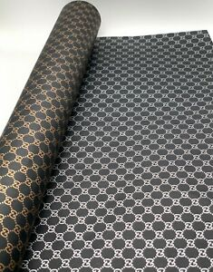 Gucci Wrapping Paper Double-Sided Gold and Silver (3 Meter)
