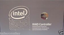 Intel SRCSASBB8I PCI Express x8 SATA And SAS RAID Controller New Retail Box