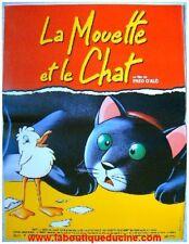 LA MOUETTE ET LE CHAT Affiche Cinéma / Movie Poster