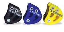 TM Designworks ATV Rear Swingarm Chain Guide Suzuki LTR 450 Yellow RCG-SUZ