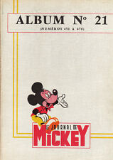 Journal de MICKEY. Album 21 - n°451 à 470. 1961