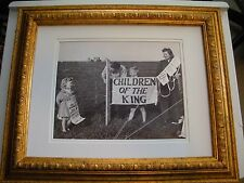 1941 Photo Children of the King Judge Rutherford Watchtower Jehovah IBSA