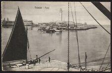 AX0396 Trieste - Faro - Cartolina postale - Postcard