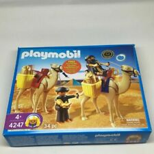 2009 PLAYMOBIL 4247 Egyptian Tomb Raiders With Camels Set