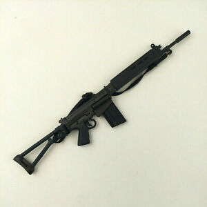 1/6 Scale 21st Century Toys Machine Gun Foldable Stock Weapon For 12 In. Figures