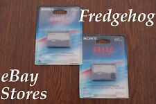 2 x SONY MGR-60 MICRO MV CAMCORDER TAPES/ CASSETTES WITH 64K BITS MEMORY - MPEG2