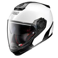 HELMET CROSSOVER NOLAN N40-5 GT SPECIAL N-COM - 15 Pure White SIZE L