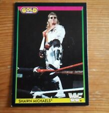 SHAWN MICHAELS MERLIN WWF 1992 GOLD SERIES 1 ROOKIE CARD
