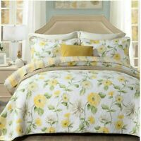 Bedspread/Coverlet set   Floral Queen/King 100%cotton🇦🇮 SELLER