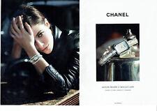 Publicité Advertising 107   2011  Chanel (2p) la montre première
