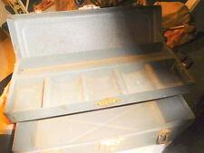 "Vintage S-K  SK Tool Box Sherman Klove,mechanic's,Chicago IL USA,14 X 6 X 6 1/2"""
