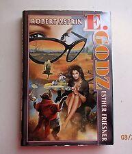 E. GODZ by Esther Friesner & Robert L. Asprin 2003, HC/DJ 1st Edition/1st print