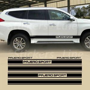 Fasce adesive Mitsubishi PAJERO SPORT adesivi fuoristrada strisce 4x4 off road