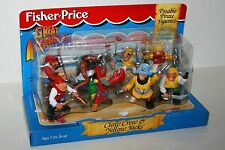Fisher Price Great Adventures Claw Crew and Yellow Jacks Pirates