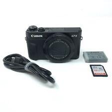 Canon PowerShot G7X Mark II 20.1 MP Compact Digital Camera - Black - 4455
