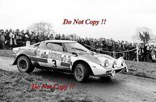 Sandro Munari Lancia Stratos HF Rally Rac 1974 fotografía 2
