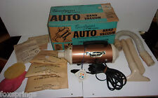 Goodyear Auto Hand Vacuum NOS In Orig Box With Attachments & Bags AV2  -  MS08