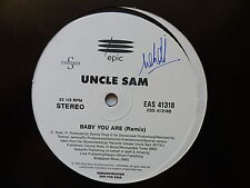 """MAXI 12"""" UNCLE SAM Baby you are EAS 4118"""
