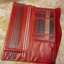 Set Boys Metal Knitting Needles