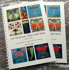 Art Nouveau Tiles with Style Volume one, No 1 best seller  Germany & USA & Japan