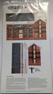 * BILT EEZI G3 Scats Warehouse 2 mm scale Model N Gauge Card Kit