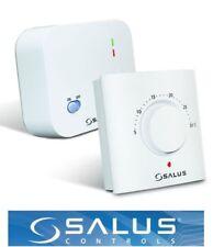SALUS ERT20RF manuale elettronico telecomando wireless Radio frequenza termostato ambiente
