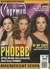 Charmed Magazine 6 August September 2005 Phoebe Alyssa Milano Poster NM
