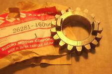 SUZUKI RM50  RM80  DS80  JR80 1977> GENUINE NOS KICK START GEAR - # 26281-46000