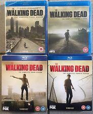 The Walking Dead Season's 1-4 Boxset - Blu-Ray, New & Sealed