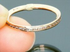 9ct Gold 0.50ct Full Circle Eternity Hallmarked ring size N 9ct Rose Gold