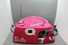 BARBIE Glamtastic BOOMBOX Radio CD Player Clean Tested EUC