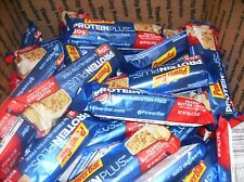 75 PowerBar PEANUT BUTTER COOKIE   Protein Plus Bars 20g PROTEIN HARD TO FIND ~