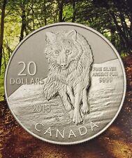 $20 Fine Silver Coin - Wolf (2013)