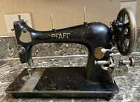 Pfaff 12 Sewing Machine Made in Germany 1924-25 Antique Treadle Tested Used