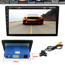 "10.1"" Android 9.0 Car Stereo Radio Player 1DIN Octa Core GPS Wifi w/ Back Camera"